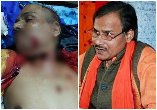 हिन्दू समाज पार्टी के अध्यक्ष व हिंदू महासभा के पूर्व उत्तर प्रदेश अध्यक्षकमलेश तिवारी की बदमाशों ने दिनदिहाड़े की गला रेत कर हत्या. बदमाश मिठाई के डिब्बे में लाये थे चाकू और तमंचा