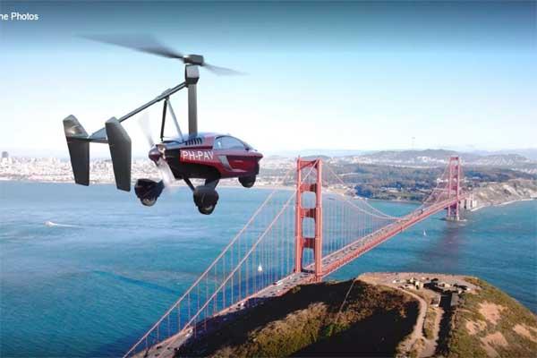 देखिए दुनिया की पहली उड़ने वाली कार, स्पीड जान दंग रह जाएंगे आप