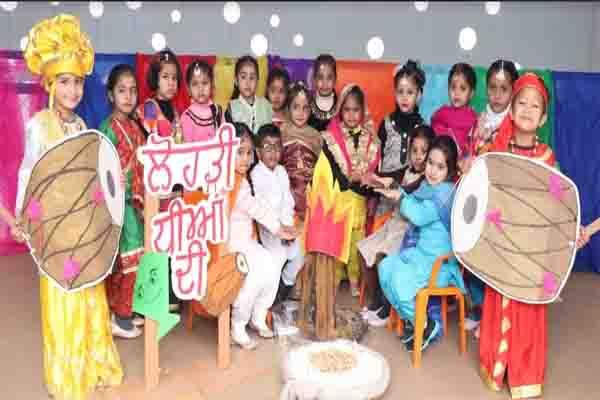 Innocent Hearts के चारों स्कूलों में लोहड़ी की धूम, बच्चों ने बड़े उमंग और उत्साह ने मनाया पर्व