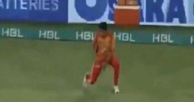 पाकिस्तान के खिलाड़ी की फील्डिंग देख हंस-हंस कर हो जाएंगे लोट-पोट, देखें VIDEO