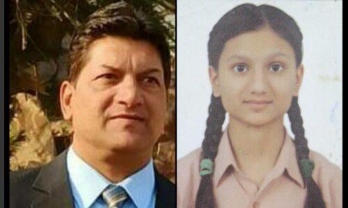 जालंधर में पत्रकार की बेटी प्रीतिका ने CBSE 10th की MATH की परीक्षा में प्राप्त किए 100 में से 100 अंक.