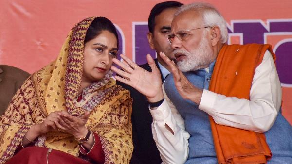 BJP से टूटा अकालीदल का गठबंधन. बादल ने किया NDA छोड़ने का एलान