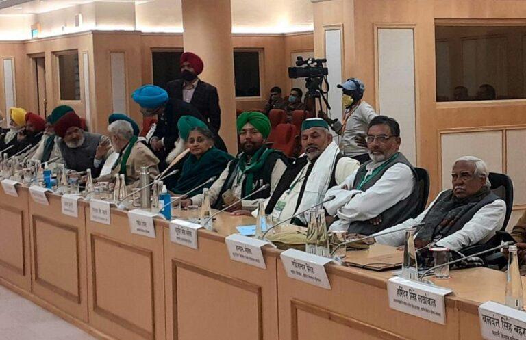 सरकार और किसानों की 10वें दौर की वार्ता भी रही बेनतीजा, अब इस तारीख को होगी अगली बैठक