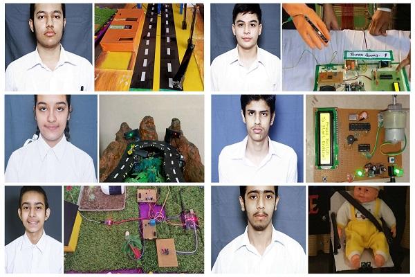 Innocent Hearts के छह विद्यार्थी इंस्पायर मानक अवार्ड के लिए चयनित, मॉडल बनाने के लिए मिले दस हजार रुपए