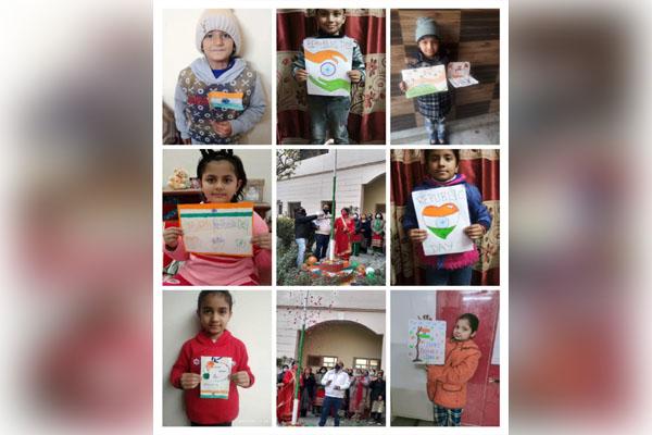 स्वामी मोहनदास मॉडल स्कूल ने मनाया 72वां गणतंत्र दिवस