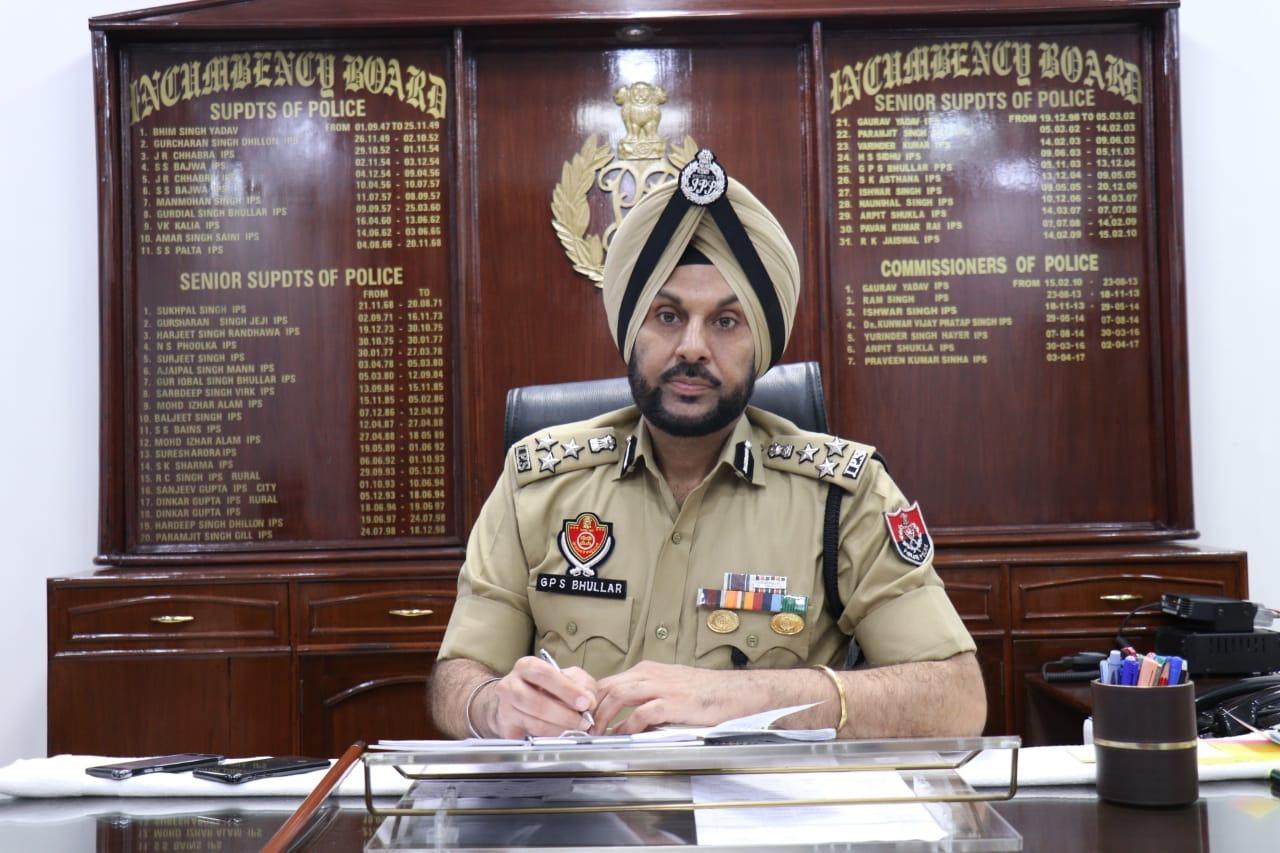 पुलिस कमिश्नर गुरप्रीत सिंह भुल्लर की कोरोना से बचाव के लिएजनता से अपील, कोविड सावधानियों और प्रोटोकाल का पालना करने को कहा