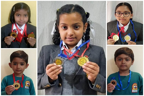 Innocent Hearts ने 20वीं जिला रोलर स्केटिंग चैम्पियनशिप में लगाई पदकों की झड़ी, विद्यालय को किया गौरवान्वित