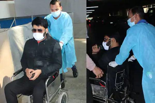 एयरपोर्ट से व्हील चेयर पर निकले कपिल शर्मा ने मीडिया को देखते ही खोया आपा और दे डाली 'गाली', देखें Video