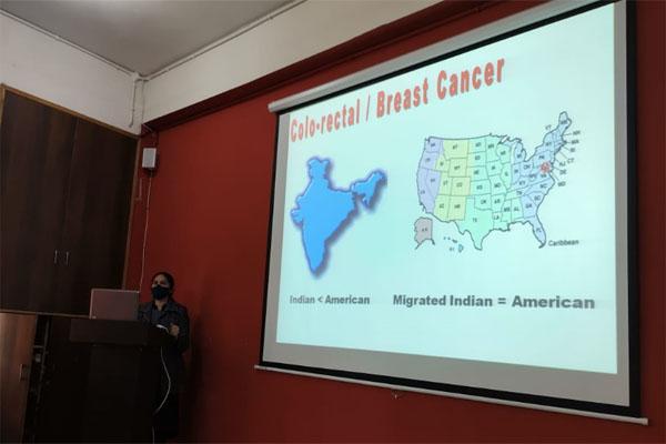 Innocent Hearts ग्रुप ऑफ इंस्टीट्यूशंस में विश्व कैंसर दिवस पर गेस्ट लैक्चर का आयोजन