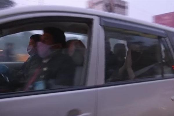रामपुर जा रही प्रियंका गांधी का काफिला हुआ हादसे का शिकार, कई गाड़ियां आपस में टकराई