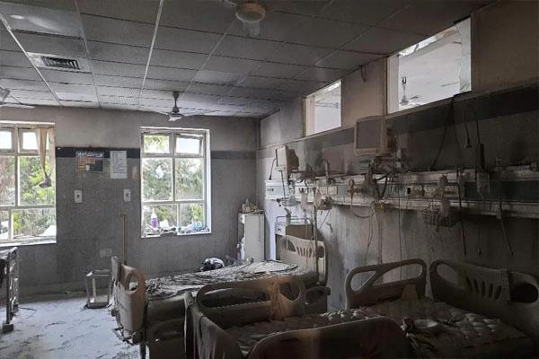 सफदरजंग अस्पताल के ICU में लगी भयंकर आग, तमाम सामान और मशीन जलकर राख- 60 मरीजों को दूसरी जगह किया गया शिफ्ट