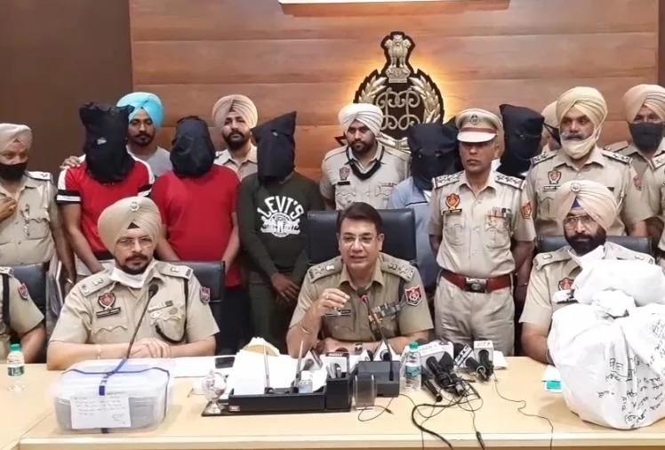 पंजाब पुलिस को बड़ी सफलता, खालिस्तानी आतंकी के भांजे समेत तीन नशा तस्कर काबू