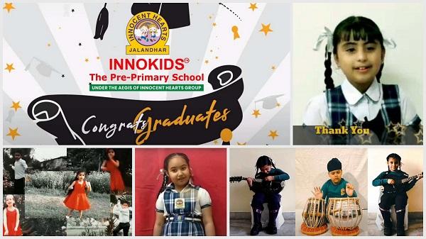 Innokids के केजी 2 के विद्यार्थियों के लिए 'वर्चुअल ग्रेजुएशन सेरामनी'