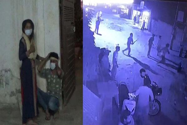 जालंधर में बदमाशों का आतंक, प्रवासी दंपत्ति को बुरी तरह पीटा, कपड़े फाड़े- वारदात CCTV में कैद