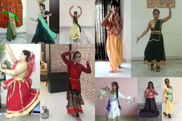 Innocent Hearts में अंतर्राष्ट्रीय नृत्य दिवस पर आनलाइन नृत्य प्रतियोगिता