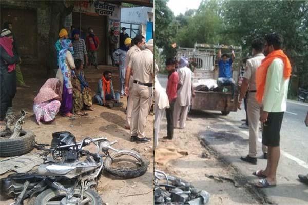 होशियारपुर में भयानक हादसा, कार और मोटरसाइकिल की टक्कर में मां-बाप सहित 3 बच्चों की मौत