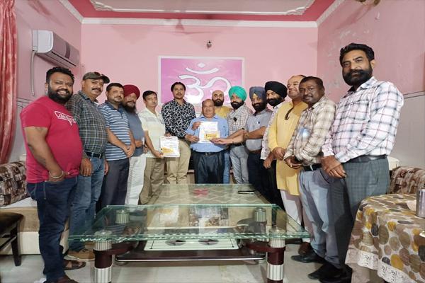 वरिष्ठ पत्रकार जतिंदर मोहन विग बने Digital Media Association कल्चरल विंग के सेक्रेटरी, सतपाल सेतिया को मिली DMA स्पोर्ट्स विंग के सेक्रेटरी की जिम्मेदारी