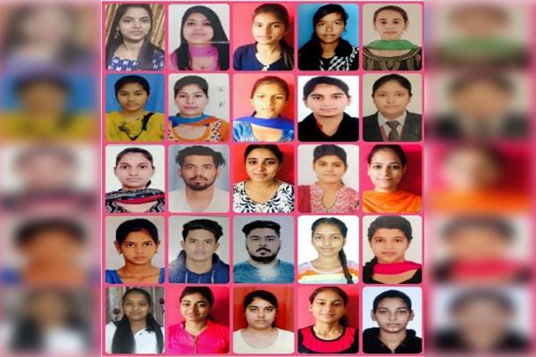 Innocent Hearts के छात्रों का विश्वविद्यालय परीक्षा में शानदार प्रदर्शन
