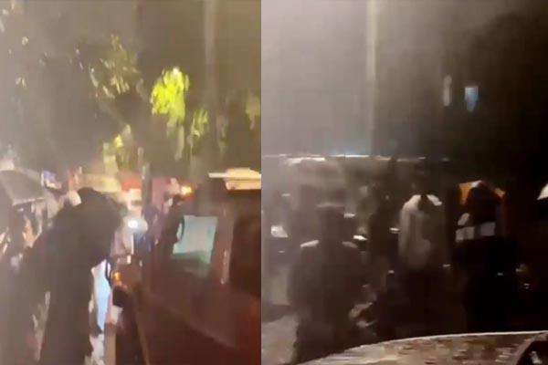 VIDEO: देर रात भारी बारिश में बीच सड़क खराब हुई इस मशहूर पंजाबी गायक की गाड़ी, मदद के लिए उमड़ा फैंस का हुजूम