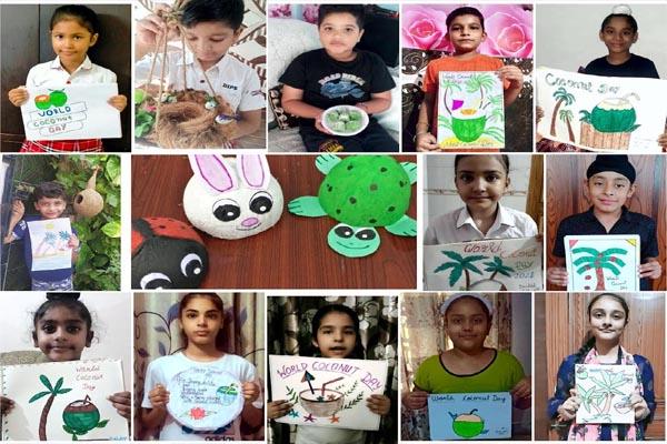 Read more about the article DIPS में कोकोनेट डे पर बच्चों ने बताए नारियल के फायदे