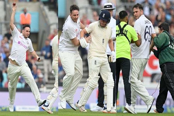 Read more about the article तीसरी बार मैदान पर घुसा 'जारवो 69', इंग्लैंड के बल्लेबाज को मारी टक्कर, VIDEO Viral