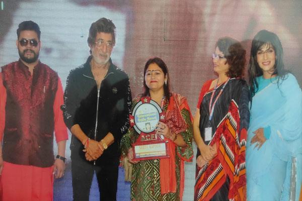Read more about the article शक्ति कपूर तथा पूर्व मिस इंडिया ने किया डिजिटल मीडिया एसोसिएशन (DMA) की वाइस प्रेसिडेंट (वुमन सैल) पत्रकार नीतू कपूर को सम्मानित