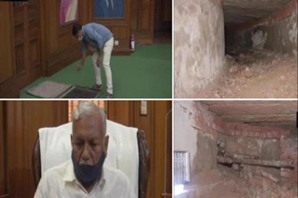 Read more about the article दिल्ली विधानसभा में मिली लाल किले तक जाने वाली सुरंग, मरम्मत के बाद देख सकेगी जनता