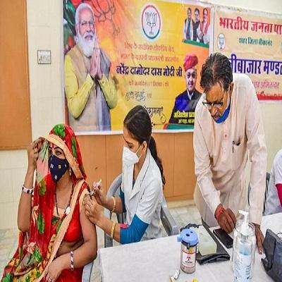 Read more about the article पीएम मोदी को जन्मदिन पर तोहफा, महज 6 घंटे में 1 करोड़ लोगों को वैक्सीन लगाकर बनाया रिकार्ड
