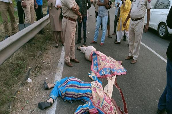 Read more about the article जालंधर में एक और हादसा: एक्टिवा सवार महिलाओं को ट्रक ने कुचला; दोनों की मौके पर मौत