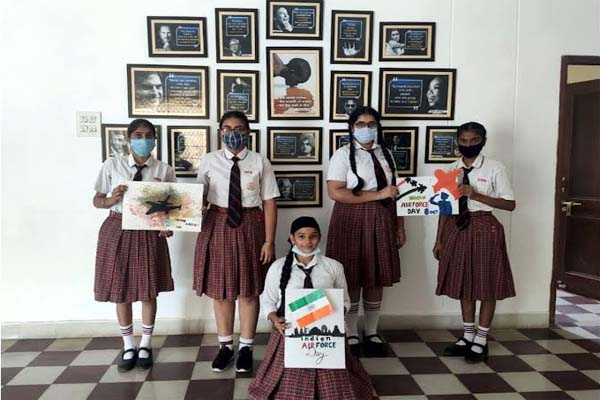 You are currently viewing DIPS स्कूलों में मनाया गया भारतीय वायु सेना दिवस