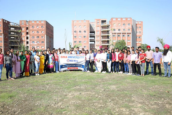 Read more about the article NSS Wing @ GNA University Organised Tree Plantation Drive