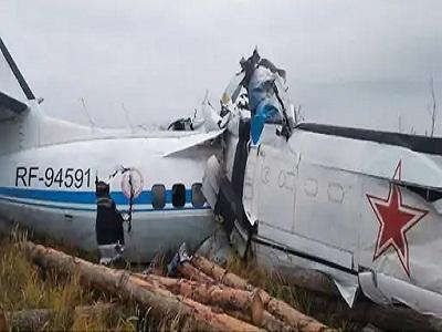 Read more about the article रूस में बड़ा हादसा : यात्रियों से भरा एल-410 विमान दुर्घटनाग्रस्त, 16 लोगों की मौत- 7 घायल